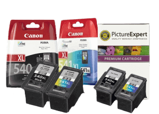 Canon PG-540 & Canon CL-541 Ink Cartridges and Refill Kits