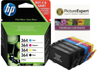 HP 364 Ink Cartridges and Refill Kits